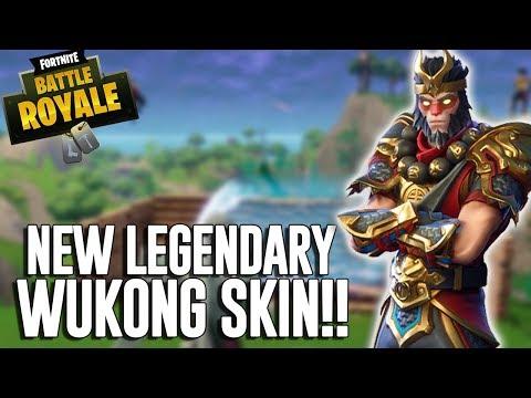 New Legendary Wukong Skin!! - Fortnite Battle Royale Gameplay - Ninja