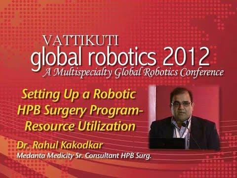 Setting Up A Robotic HPB Surgery Program - Resource Utilization