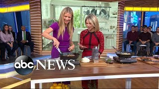 Gwyneth Paltrow shares recipes from her new cookbook on 'GMA'