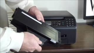 Panasonic KX-MB1520 Unboxing & Setup.wmv
