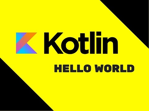 #2 Kotlin Tutorial | Hello World