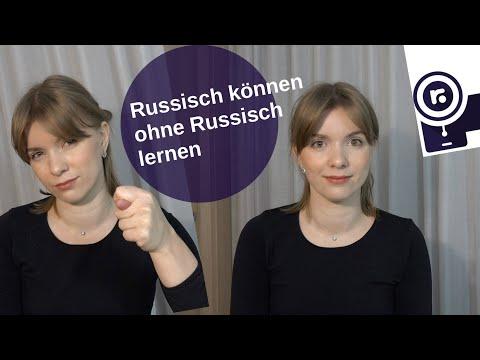 Russisch können ohne Russisch lernen! [Video]