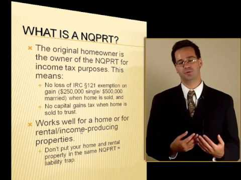 Download Non-Qualified Personal Residence Trust NQPRT: Protecting a Home Mp4 HD Video and MP3