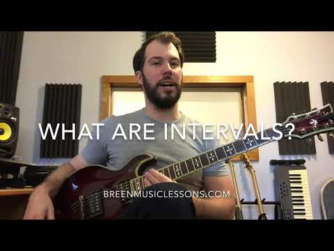 What are intervals?