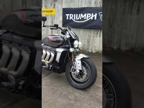 2021 Triumph Rocket 3 GT in Charleston, South Carolina - Video 1