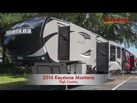 2016 Keystone Montana High Country