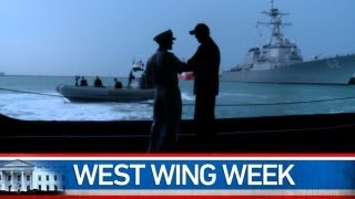 preview picture of video 'West Wing Week: 08/02/13 or Let Us Be Awed By Their Shining Deeds'