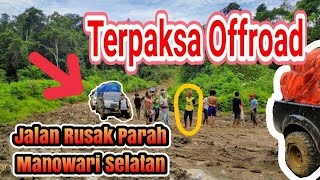 preview picture of video '#offroad! TRIP Manokwari - Teluk Bintuni, Papua Barat.'