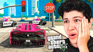 Jugando GTA 5 sin ROMPER las LEYES!! Grand Theft Auto V - GTA V