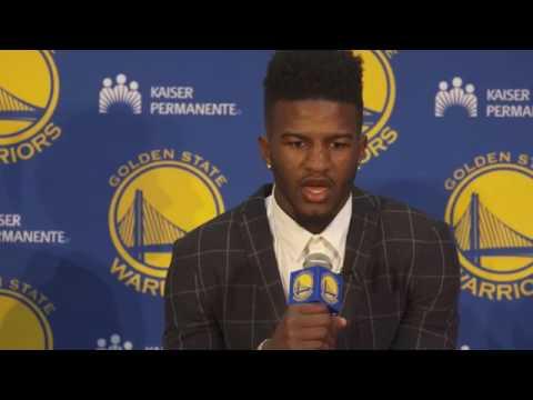 2017-6-23 Golden State Warriors  Jordan Bell