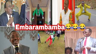 POLITICIANS REACTS TO EMBARAMBAMBA'S SONGUHURU FT RUTO FT PASTOR NGANGA FT LONYANGAPUO.