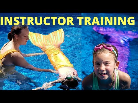Mermaid Certification for Instructors - YouTube