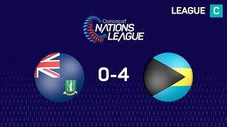 #CNL Highlights - British Virgin Islands 0 - 4 Bahamas