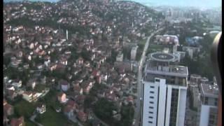 preview picture of video 'SARAJEVO FROM AIR - BOSMAL CITY CENTER SARAJEVO SARAYBOSNA'