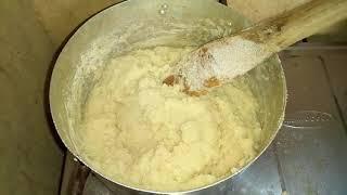How To Cook The Perfect SEMOVITA (fufu Recipe)