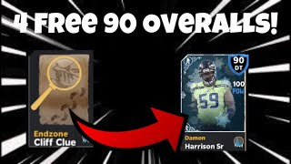 HOW TO GET 4 FREE 90 OVERALLS FAST WITH THE COLDFIRE MOUNTAIN PROMO! Madden Mobile 21!