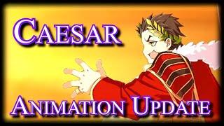 Gaius Julius Caesar  - (Fate/Grand Order) - Julius Caesar Animation Update + Noble Phantasm