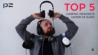 Top 5 Gaming Headsets 2021 auf Amazon für unter 50 €