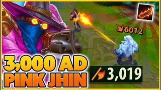 RAGEBLADE once again BREAKS JHIN (how you get 3,019 AD) - BunnyFuFuu | League of Legends