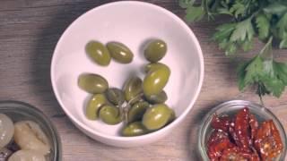 Tartaleta Capricciosa de atún y Emmentaler AOP Video