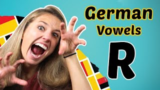 GERMAN PRONUNCIATION 9: How to PRONOUNCE the GERMAN R? 😳😳😳