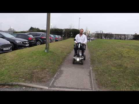 TGA: The Maximo Plus car boot mobility scooter YouTube video thumbnail