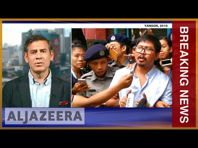 ???????? Myanmar court rejects final appeal by jailed Reuters journalists | Al Jazeera English