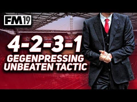 FOOTBALL MANAGER 2019 UNBEATEN GEGENPRESS TACTIC 4-2-3-1 & DOWNLOAD