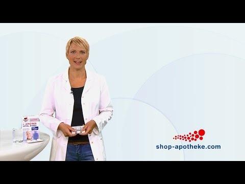 Bei Stress und Belastung hilft Doppelherz system L-Arginin Vital