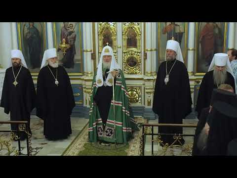 Слово Патриарха Кирилла в Минске в Кафедральном соборе