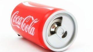 Банка-колонка Coca-Cola. Как это работает?