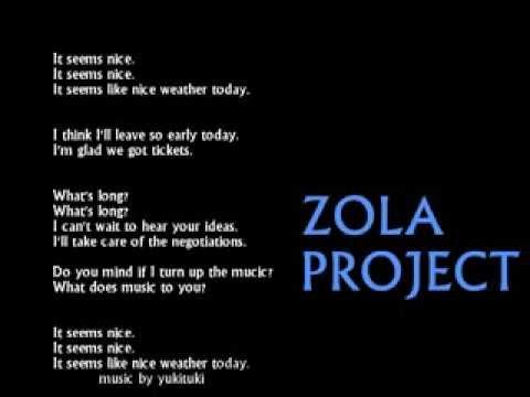 【ZOLA PROJECT】it seems nice【オリジナル】