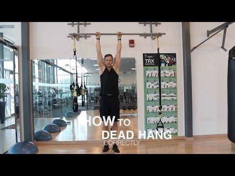 How to dead hang