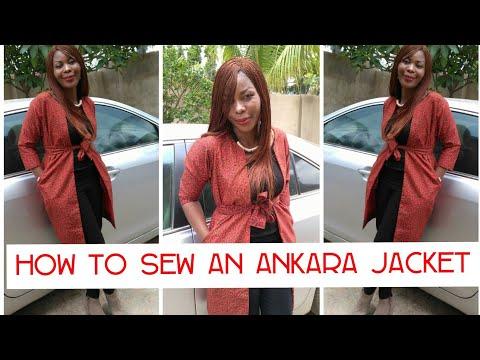 How to Sew an Ankara Jacket