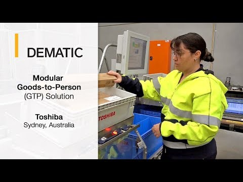 Inventory to Person Order Picking System | Dematic