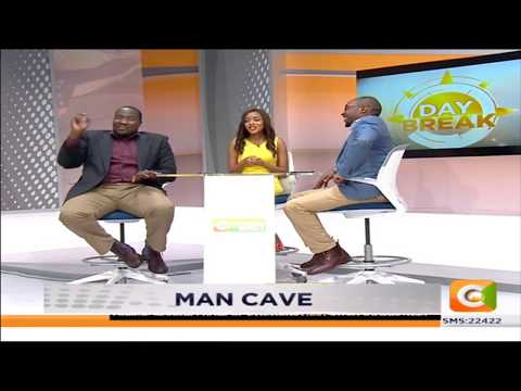 Citizen TV: MAN CAVE | Older men being with younger women #DayBreak