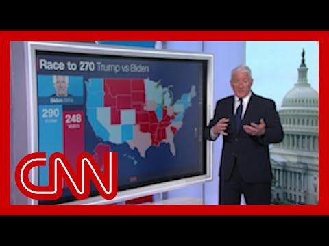 Road to 270: Biden leading in these battleground states