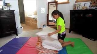 How to a backhandspring with out a spotter AND how to get over the fear of doing one!
