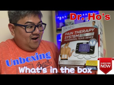 Dr. Ho's I Pain Therapy System I Unboxing I What's in the Box