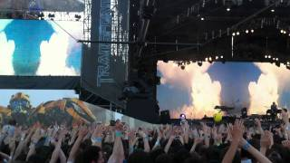 Linkin Park in Moscow 23.06.11 - Jornada Del Muerto - Transformers 3 Free Concert
