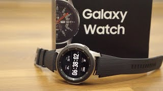 Samsung Galaxy Watch Unboxing & Overview 46mm (2018 Edition)