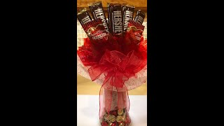 How To Make A DIY Valentines Day Candy Bouquet
