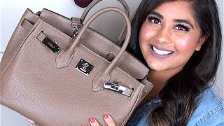 What's In My Designer Handbag| Caty Silver 12