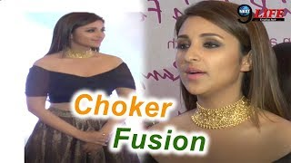 Jewellery Fusion With Parineeti Chopra...|| Parineeti Chopra Jewellery Collection || Trendy Chokers