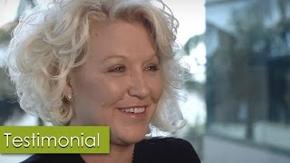 Dr. Clevens Patient, Stephanie Speaks on her Upper and Lower Eyelid Lift