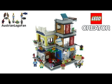 Vidéo LEGO Creator 31097 : L'animalerie et le café