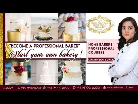 Baking Classes in Delhi   Home Bakers Professional Course   Chef Natasha Mohan  Cake Central Academy
