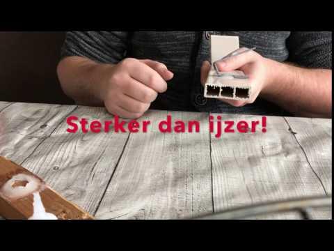 Sterker dan ijzer | Laslijm.nl