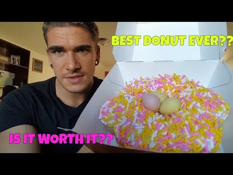 CADBURY MINI EGG DONUT REVIEW – From Tim Hortons