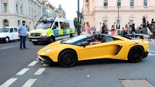 LAMBORGHINI CONFRONTED BY HATER IN LONDON *POLICE CALLED* !!!
